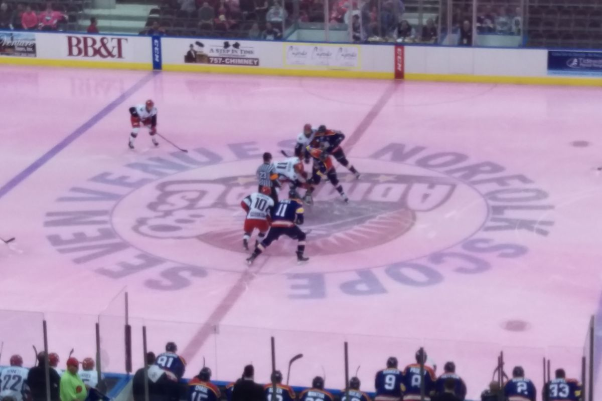 The Norfolk Admirals host the Elmira Jackals for their annual Pink in the  Rink Night Jan 23 f9ef12d20