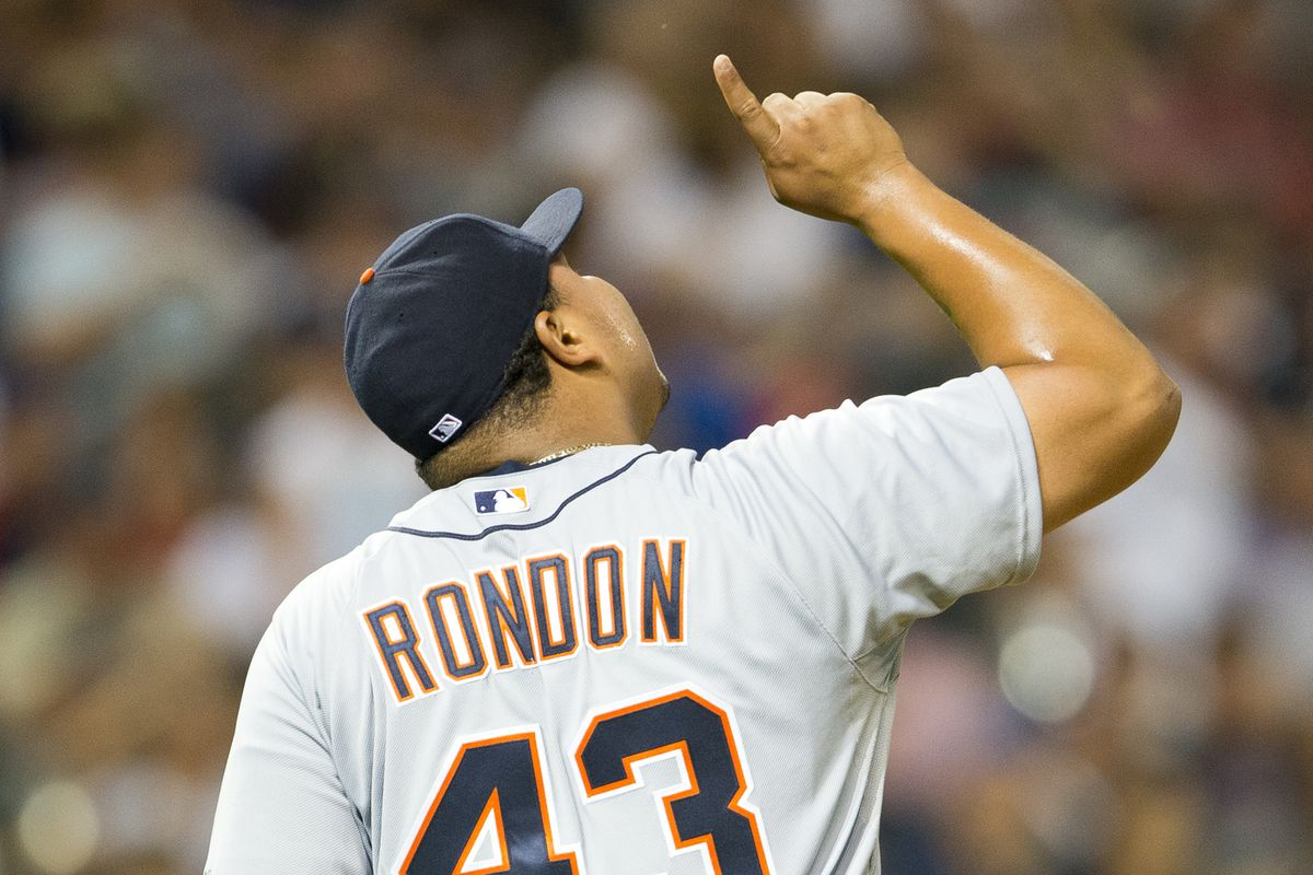 Tigers reliever Bruce Rondon