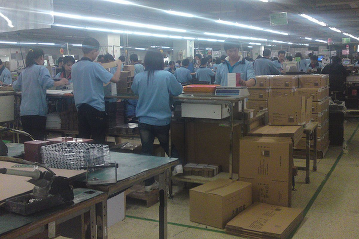 VTech Factory Workers