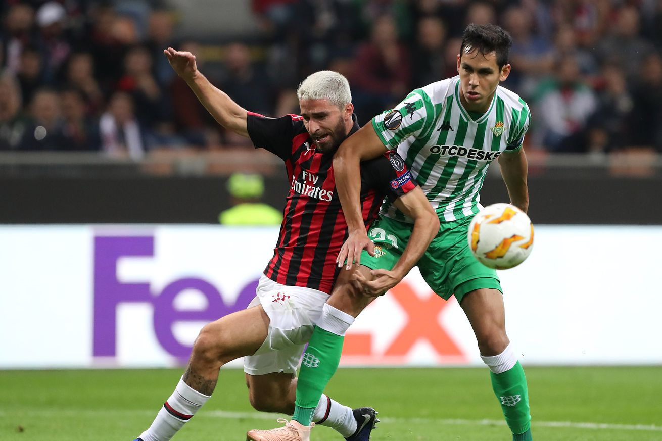 Rossoneri Round-up for 8 November: Gattuso wants Milan to stay ?more organized? against Betis