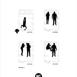 Bed plan from 'Lost in Translation'
