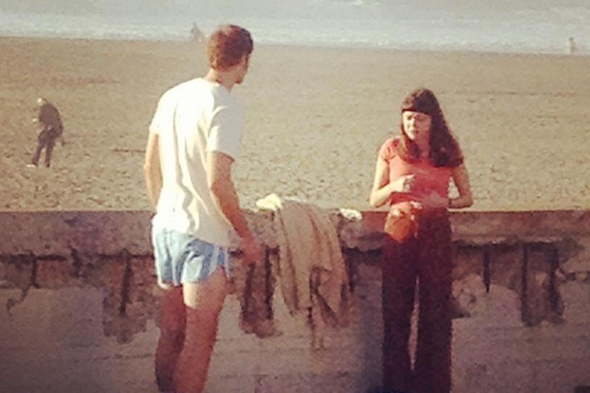 "Alexander Skarsgard filming Diary of a Teenage Girl; photo via Instagram/<a href=""http://instagram.com/msfangirl99"">MsFanGirl</a>"