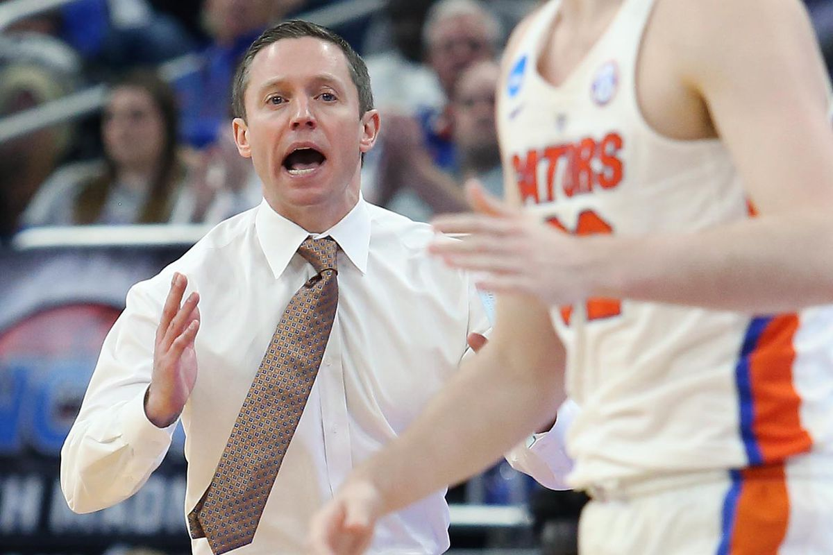 NCAA Florida versus ETSU men's basketball tournament