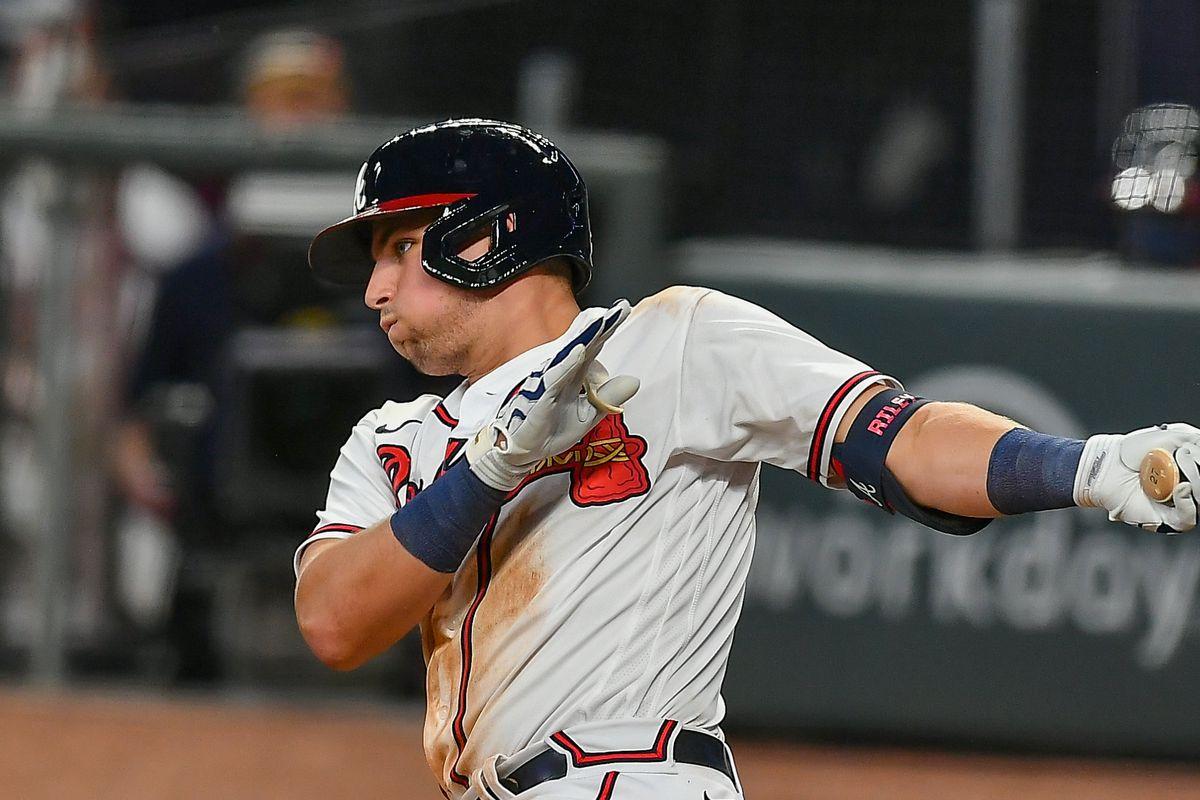 MLB: AUG 17 Nationals at Braves