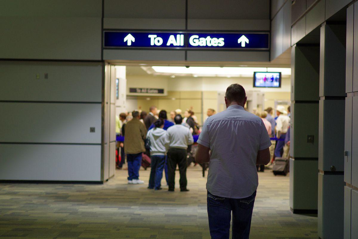 TSA security (flickr)