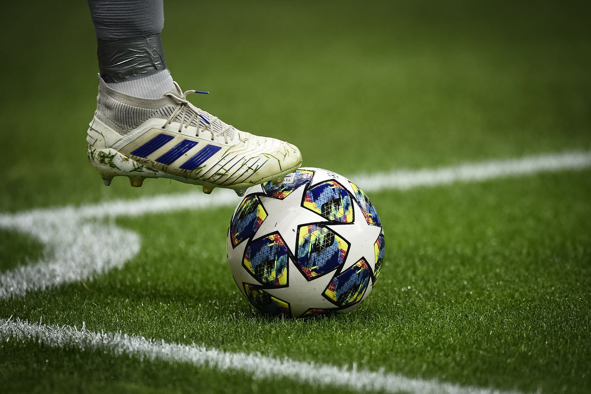 The Adidas official UEFA Champions League match ball is...