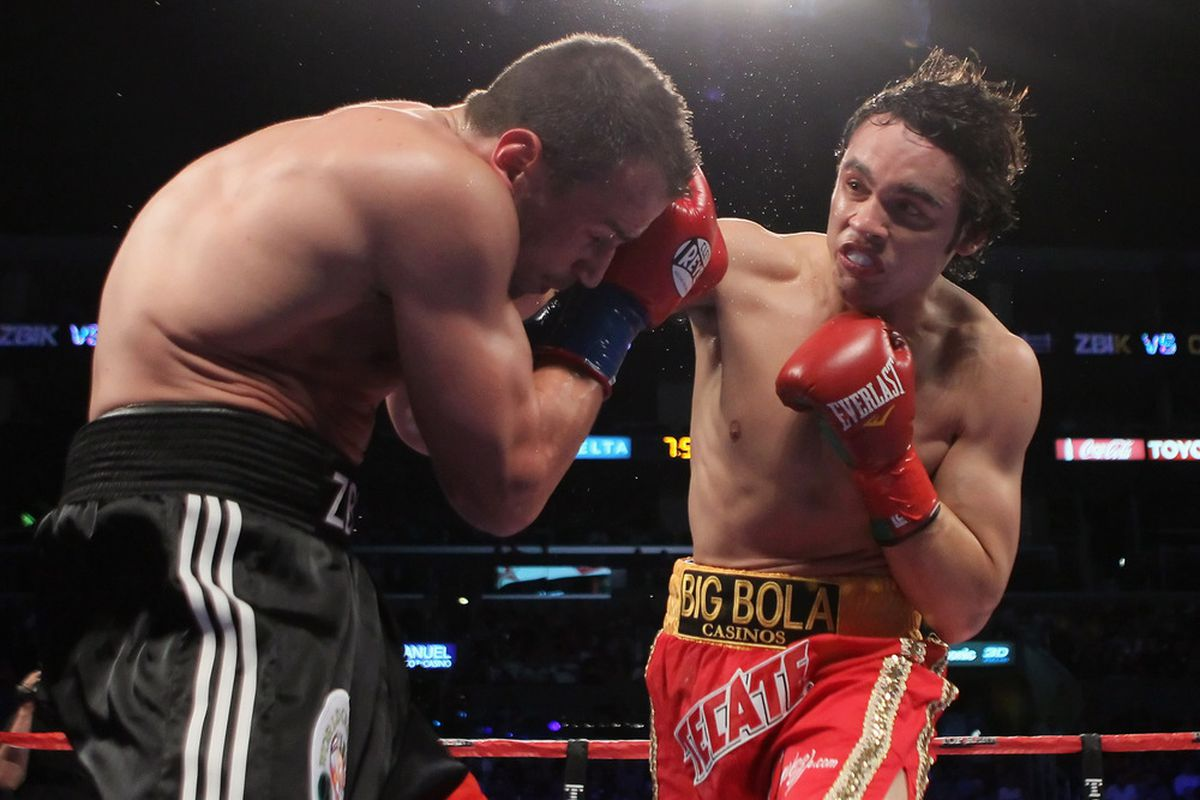 Julio Cesar Chavez Jr won't be fighting Ronald Hearns on September 17, claiming a hand injury. (Photo by Jeff Gross/Getty Images)