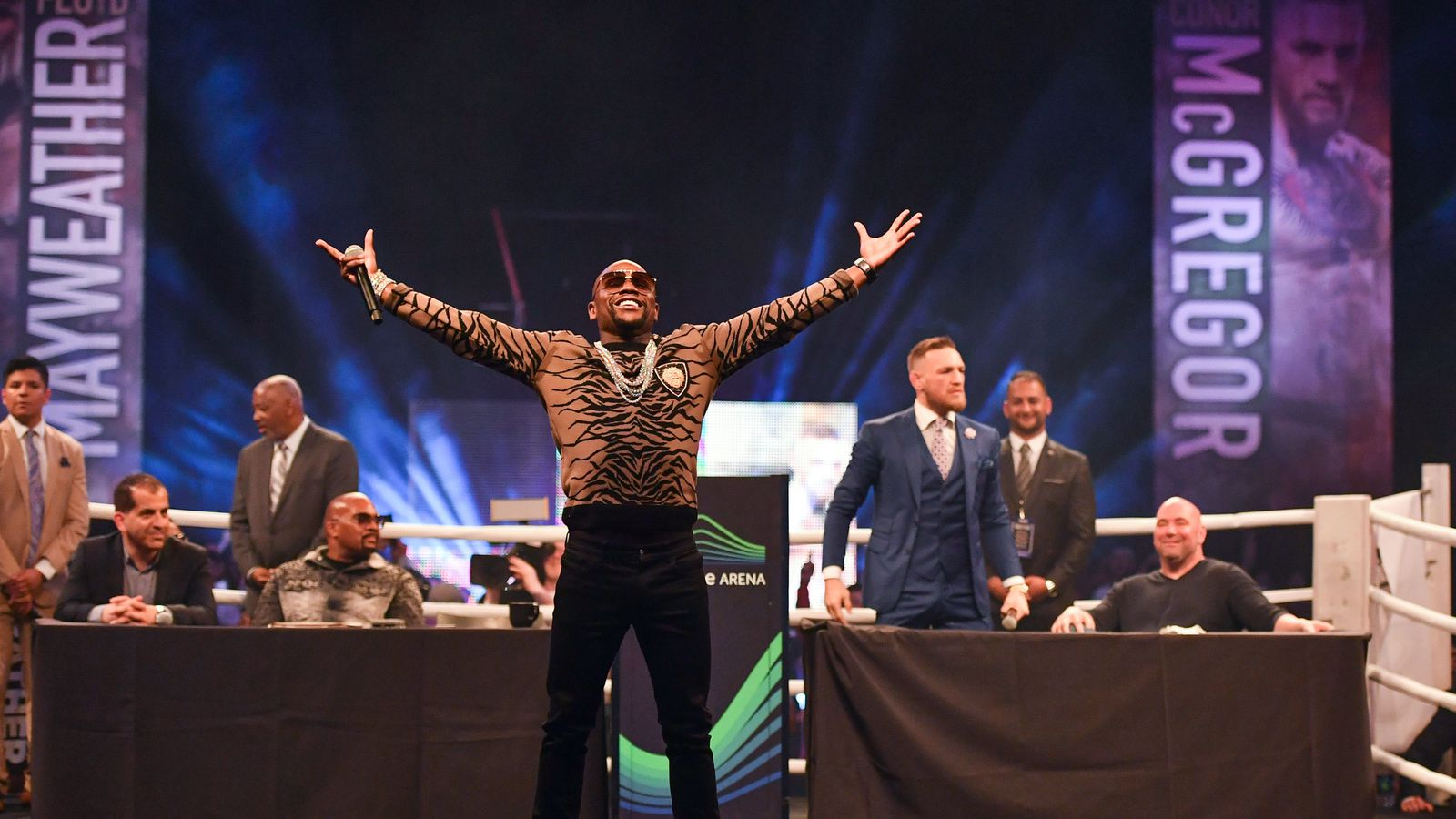how to watch mayweather vs mcgregor live results
