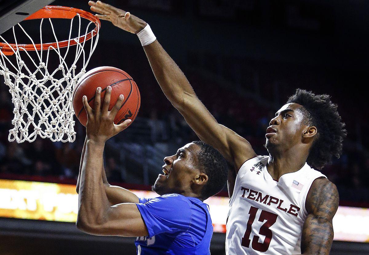 NCAA Basketball: Memphis at Temple