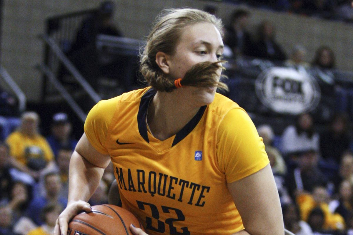 Lauren Tibbs got the start on Wednesday in lieu of Katherine Plouffe, and fell one point shy of a double-double.