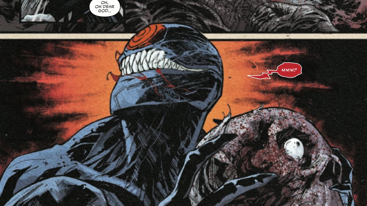 A symbiote in Web of Venom: Ve'Nam (but not THAT symbiote), Marvel Comics (2018).