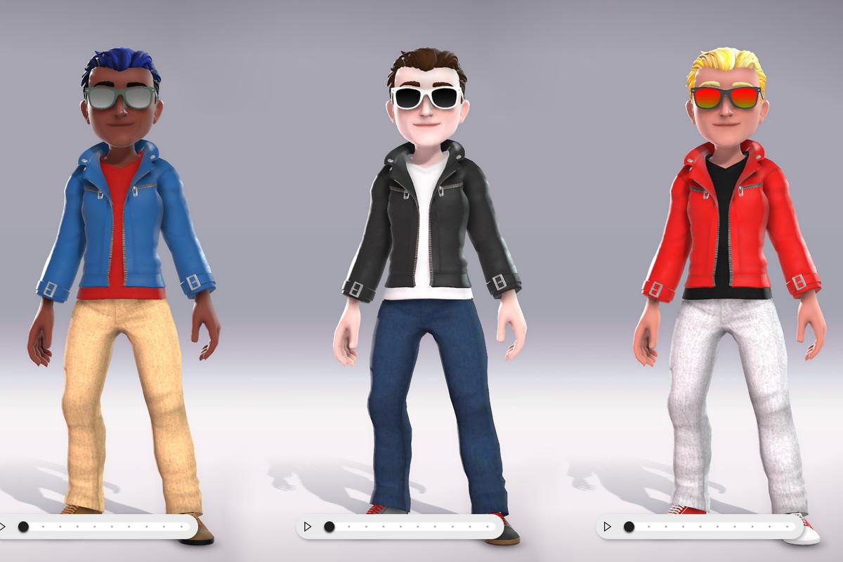microsoft starts testing new diverse xbox live avatars - the verge