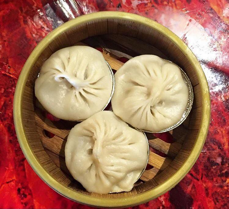 Soup dumplings from Chinatown