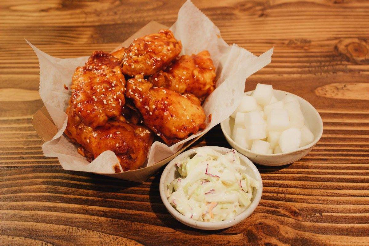 coreanos fried chicken