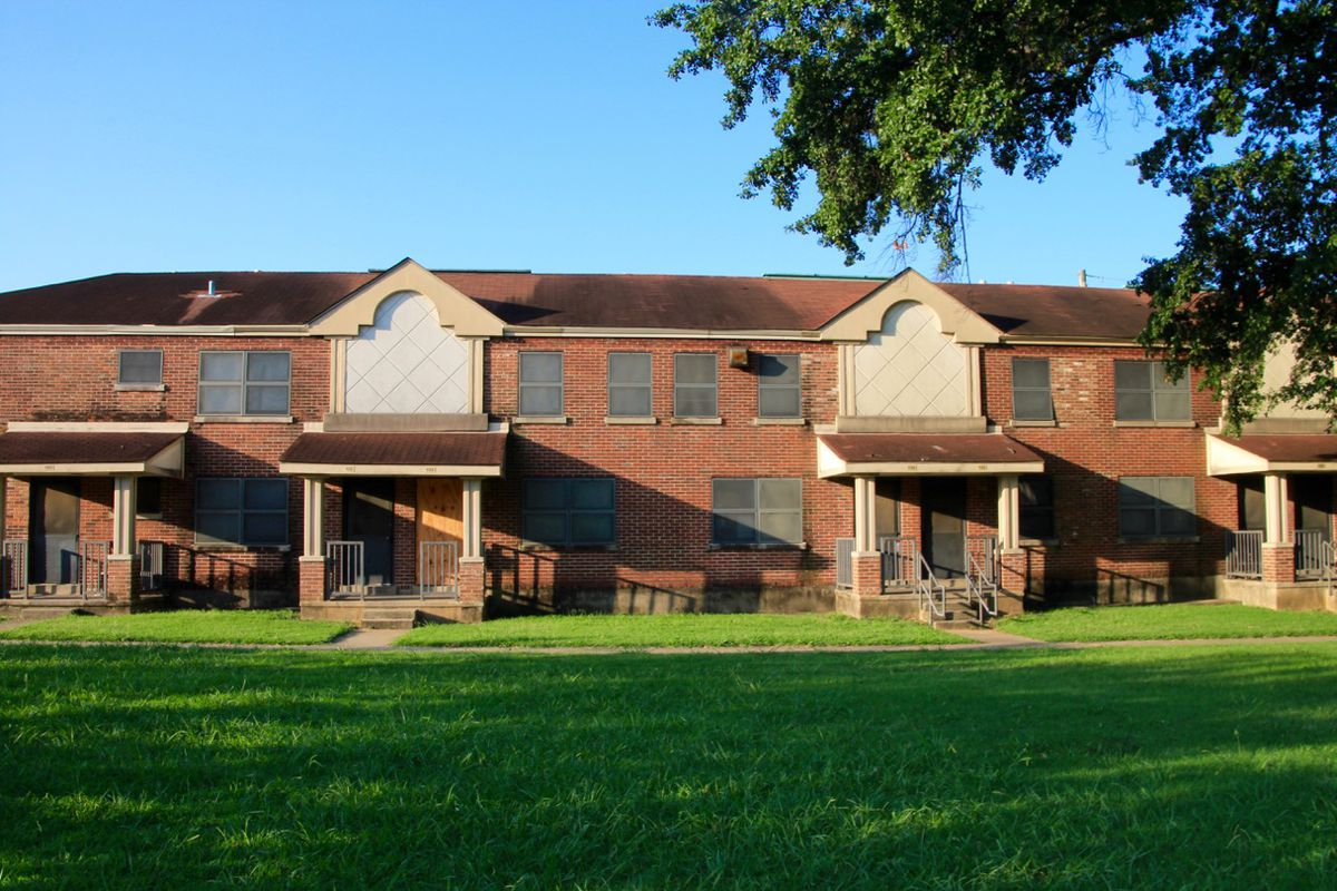 The Foote Homes housing project, which is scheduled to be razed and redeveloped, has been home to thousands of Memphis families since it was built in the 1940s to serve as low-income housing for African-American families.