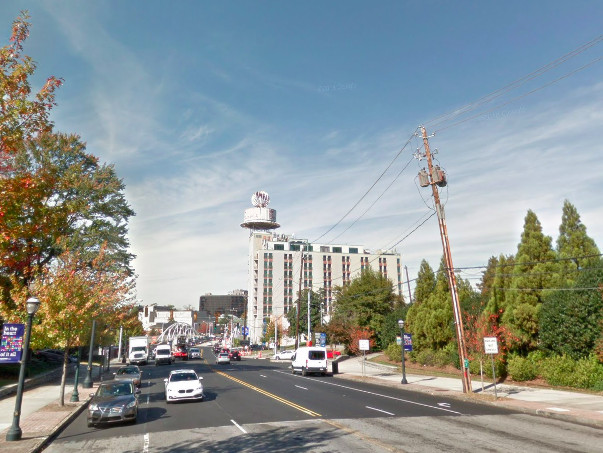Utility Pole Work Could Snarl Peachtree Traffic In Buckhead Through