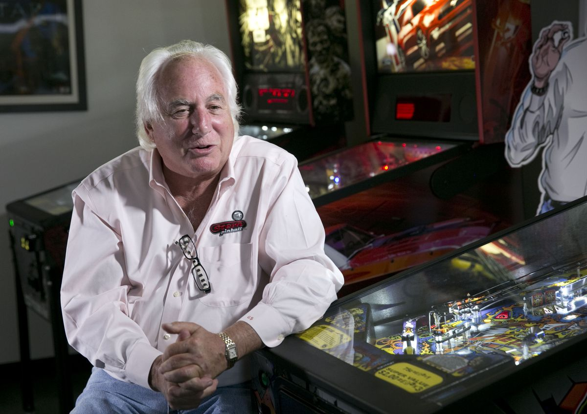 Gary Stern, founder and president of Stern Pinball, says it has been his dream to make a Beatles-themed pinball machine.   Richard A. Chapman/Sun-Times file photo