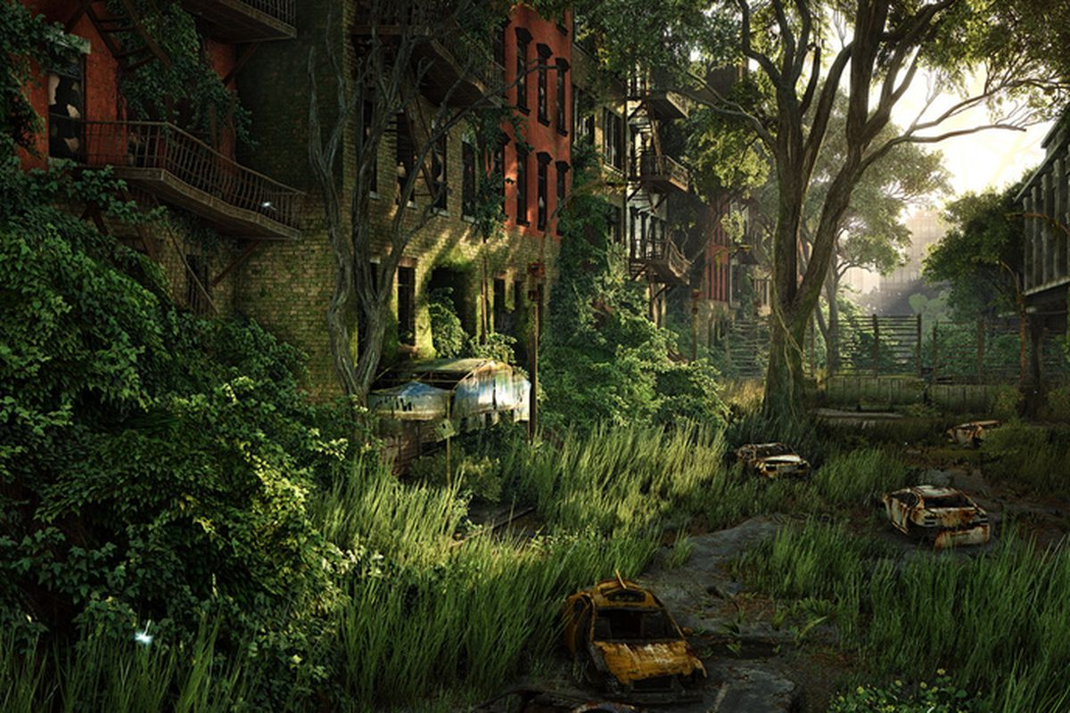 crysis 3 at 8k resolution looks like watercolor landscapes - polygon