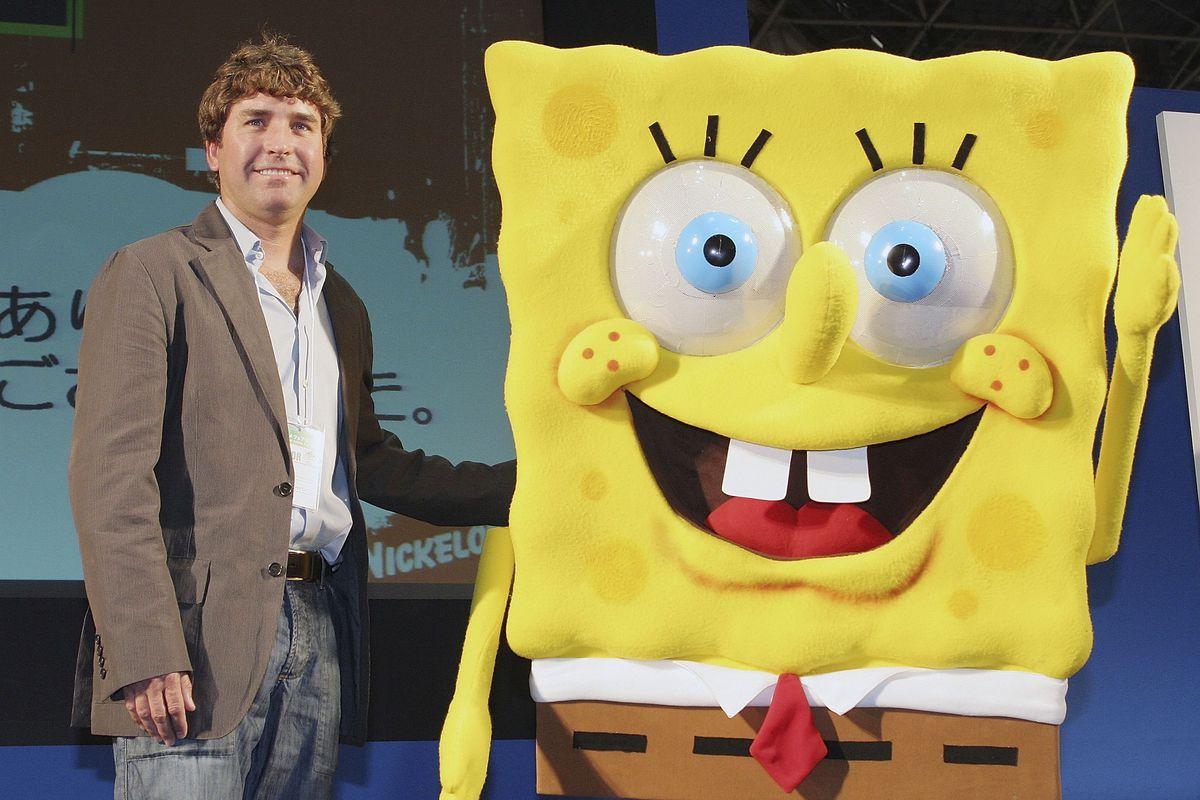 Image result for spongebob squarepants stephen hillenburg