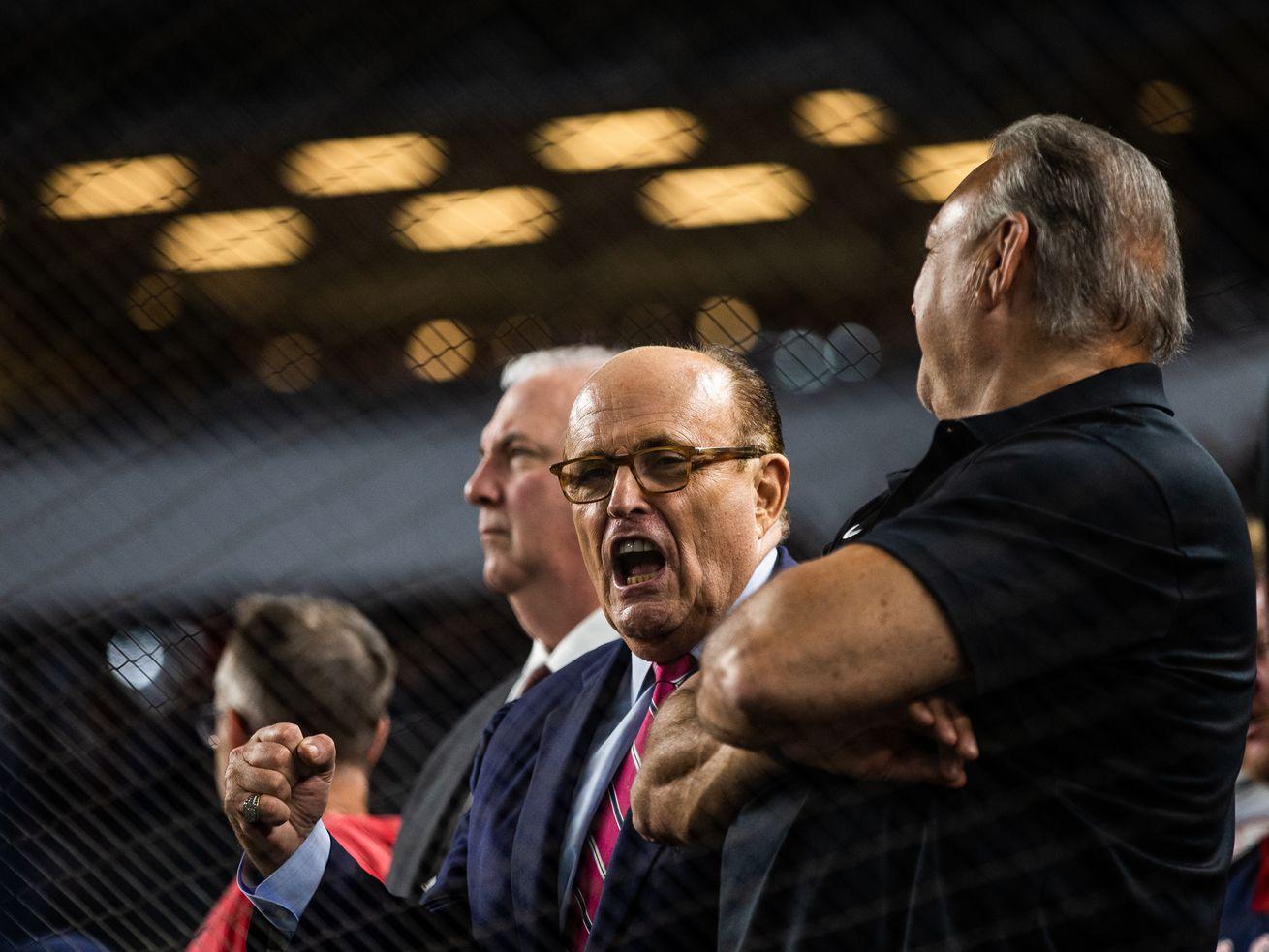 As Impeachment Looms Rudy Giuliani S Ukraine Conspiracies Are Getting More Outlandish Pnu