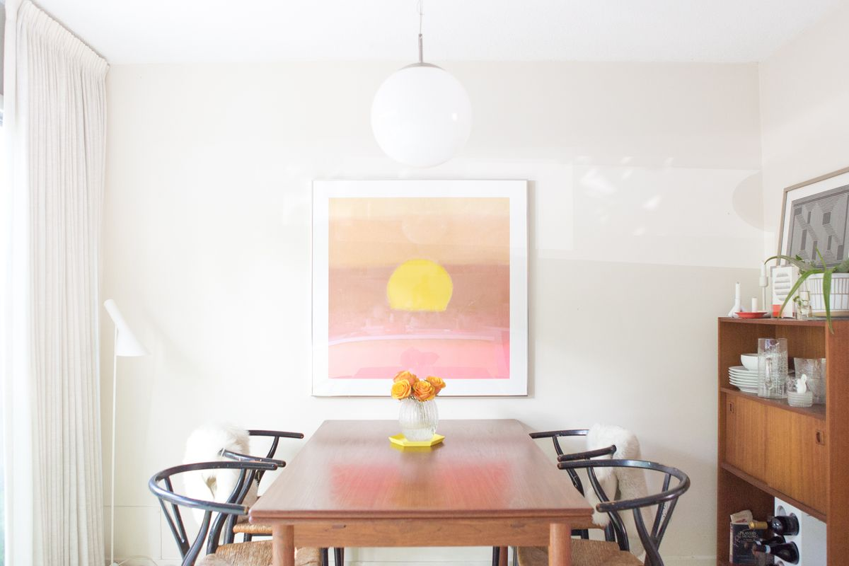 The Dining Room In Minneapolis Home Of Stylist And Designer David Anger Photo By Wing Ta Curbed Handbook
