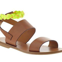 """See by Chloe <b>summer flat</b>, $260 at <a href=""""http://needsupply.com/womens/shoes/t-strap-sandal.html#"""">Piperlime</a>"""