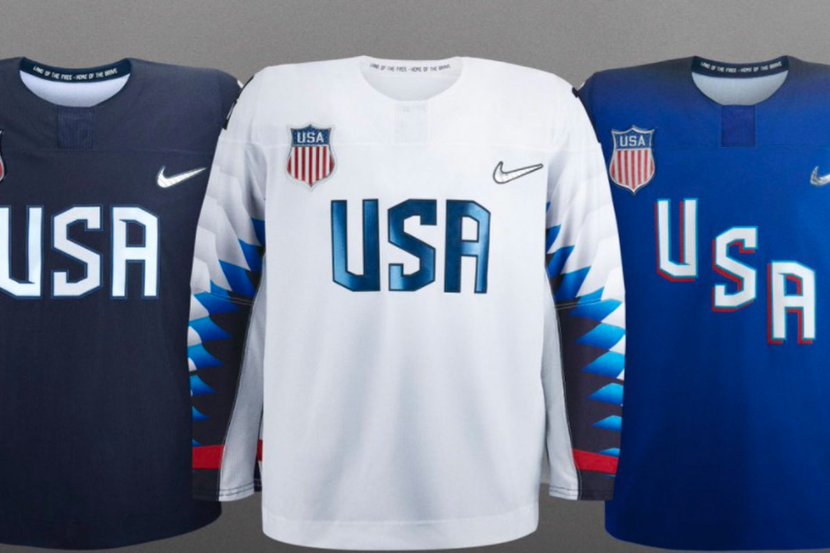a72beba6e4b The Team USA and Team Canada 2018 Winter Olympics jerseys are awful ...