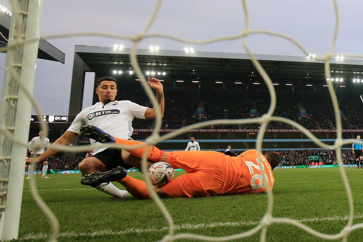 Aston Villa v Swansea City - FA Cup Third Round