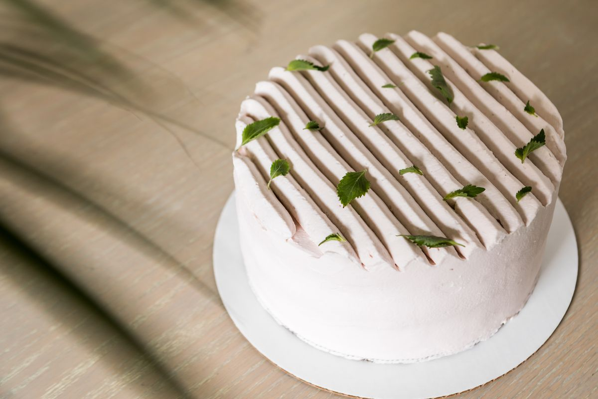 Chinese sponge cake at Grand Opening