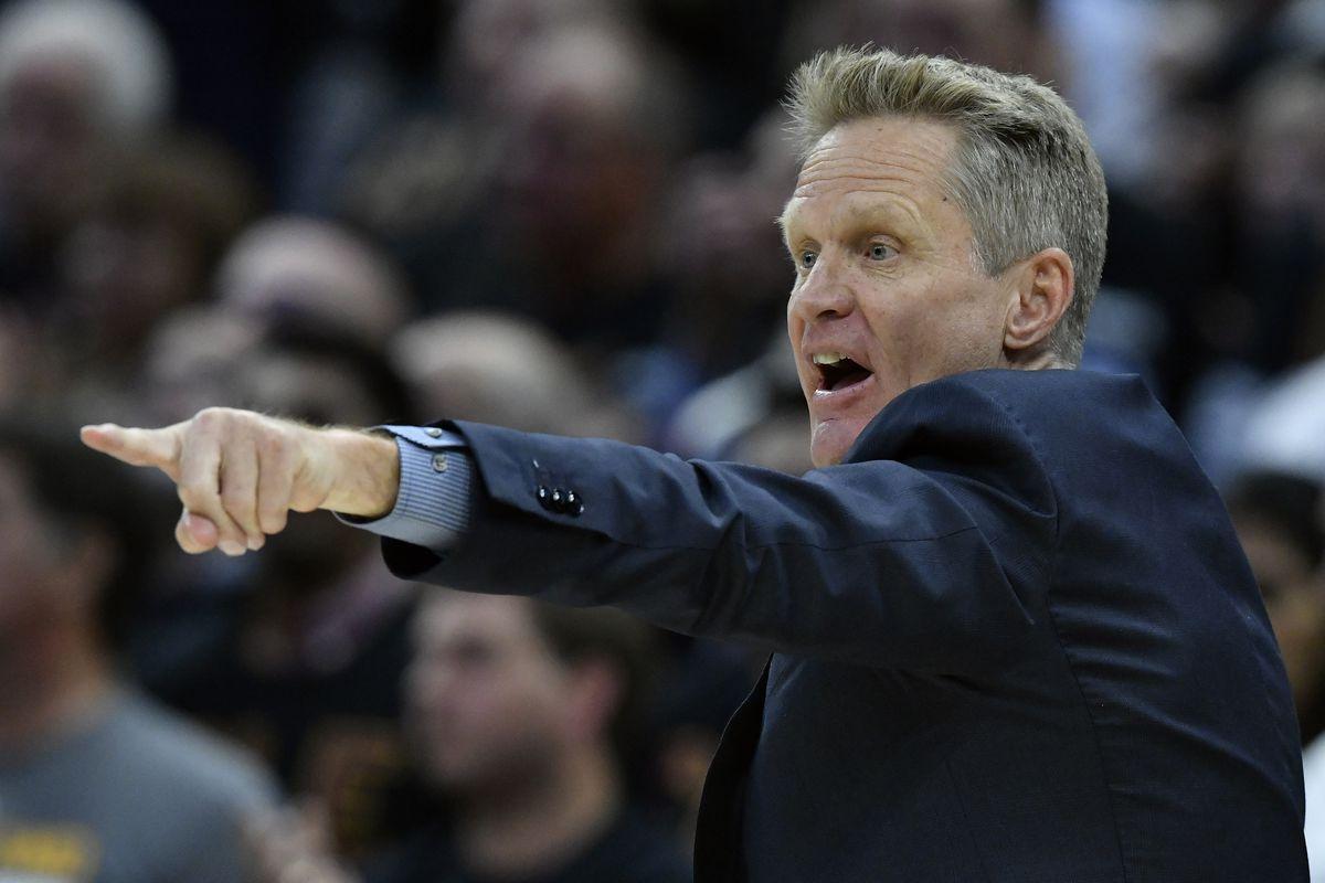 Warriors coach Steve Kerr rocks a Seattle SuperSonics shirt - Golden ... c14a5dac4