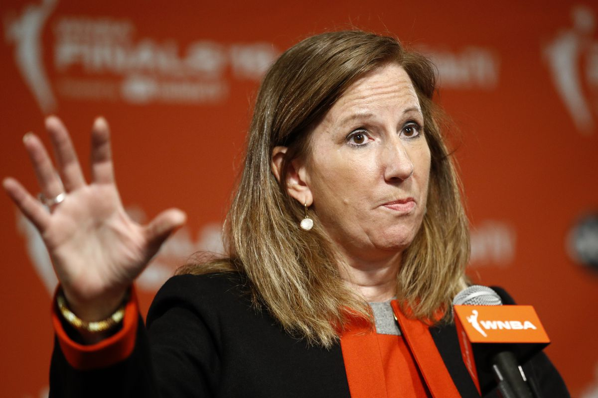 On Friday, WNBA CommissionerCathy Engelbert told The APthe league is focusing on about a half-dozen scenarios to play this summer.
