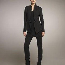 "<b>Donna Karan</b> structured jersey cardigan, was $1,095, now, <a href=""http://www.neimanmarcus.com/p/Donna-Karan-Structured-Jersey-Cardigan-Scoop-Neck-Tank-Structured-Slim-Jersey-Pants-Pants/prod138240195/?ecid=NMALRFeedHy3bqNL2jtQ...&ci_src=14110944&ci"