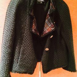 Black Chanel jacket // $550