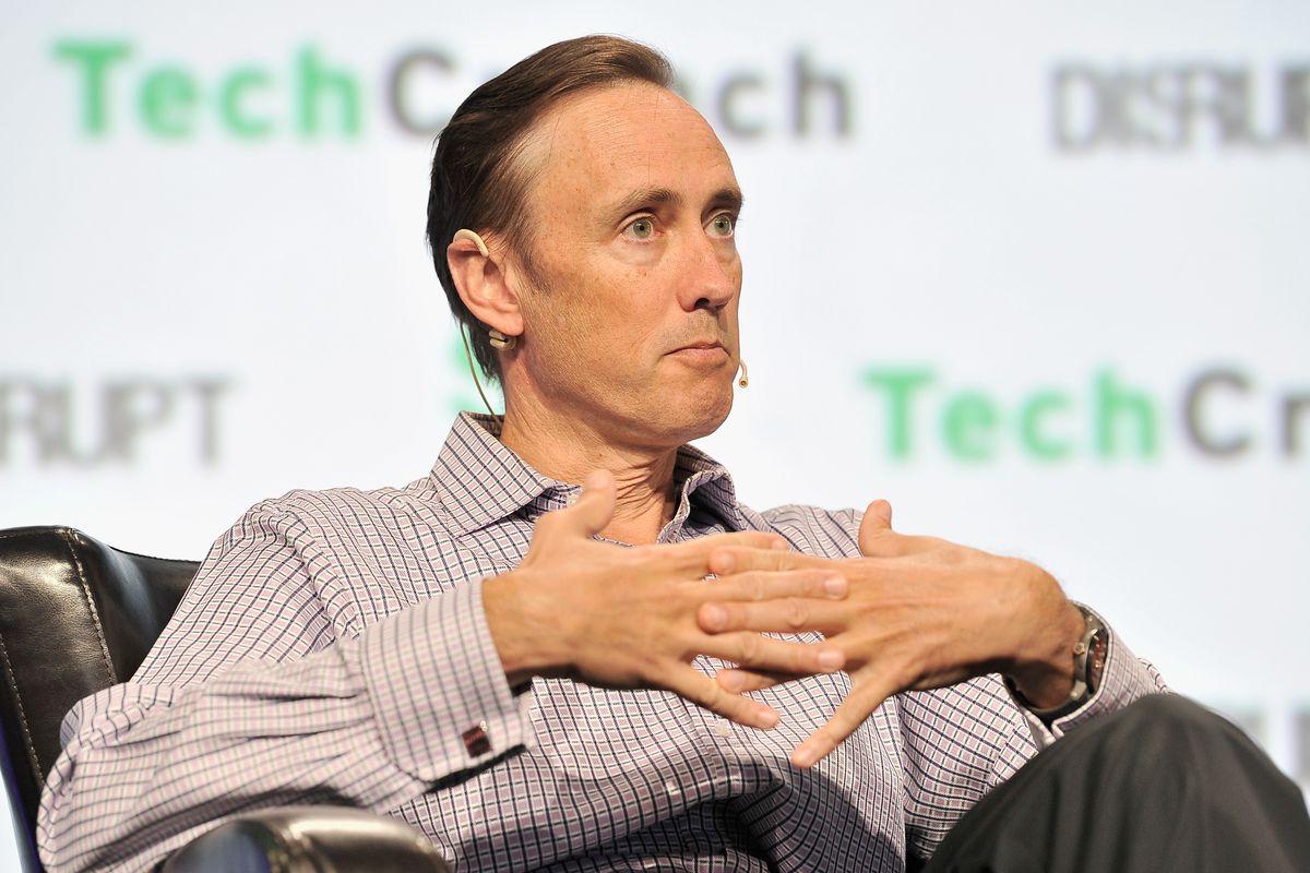 DFJ partner Steve Jurvetson onstage at TechCrunch Disrupt
