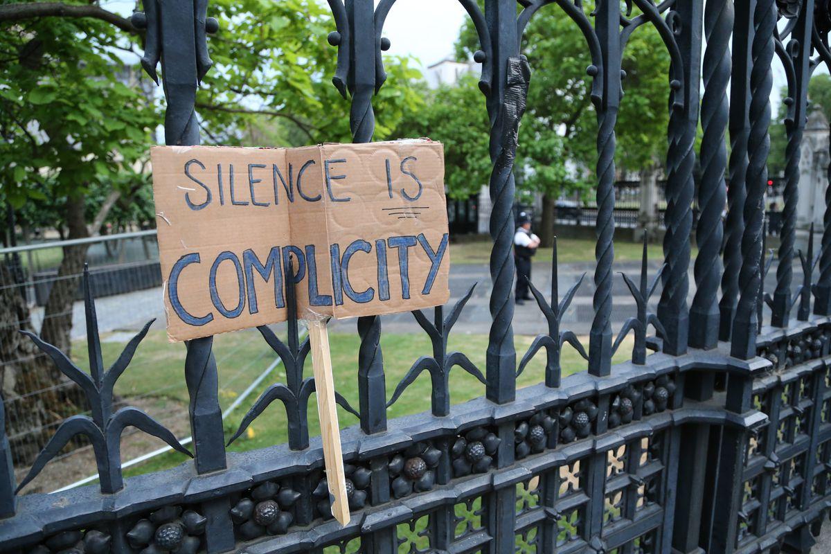 Thousands protest in London for Black Lives Matter