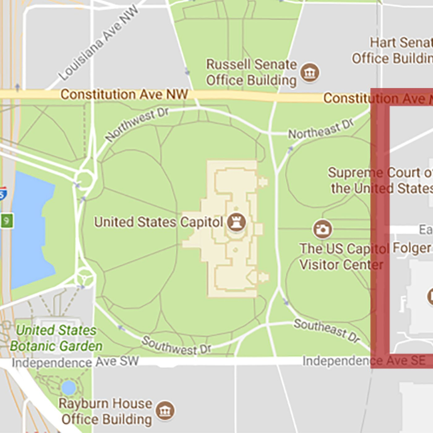 Labor Day Concert Road Closure Map Revealed Curbed Dc - Map-of-the-us-capitol-building