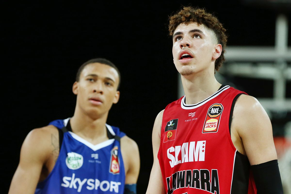 View From Down Under Lamelo Ball Rj Hampton Have Remarkable Tools Netsdaily
