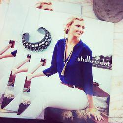 The limited-edition Zulu cuff from Stella & Dot's January design studio.