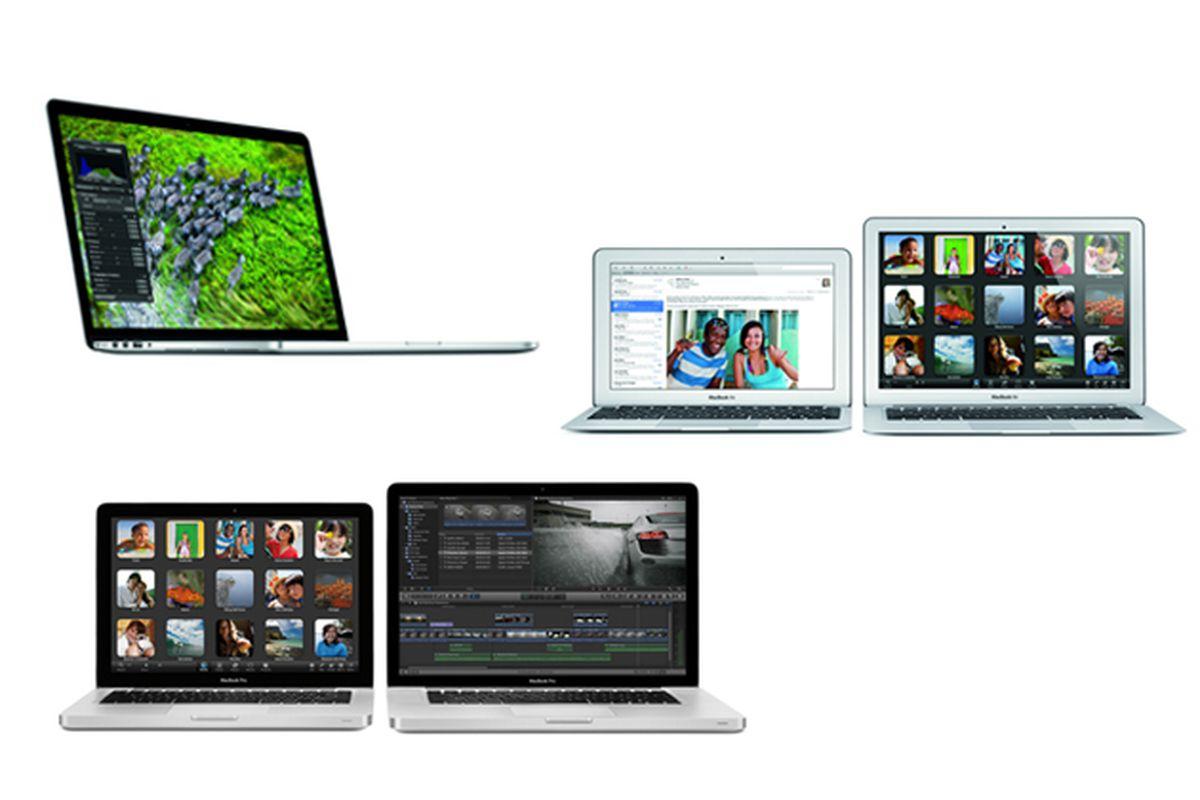 apple macbook family portrait 2012