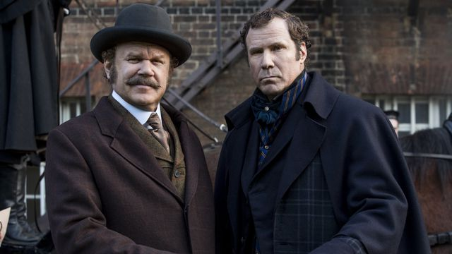 John C. Reilly and Will Ferrell as John Watson and Sherlock Holmes: the boys are back in town.
