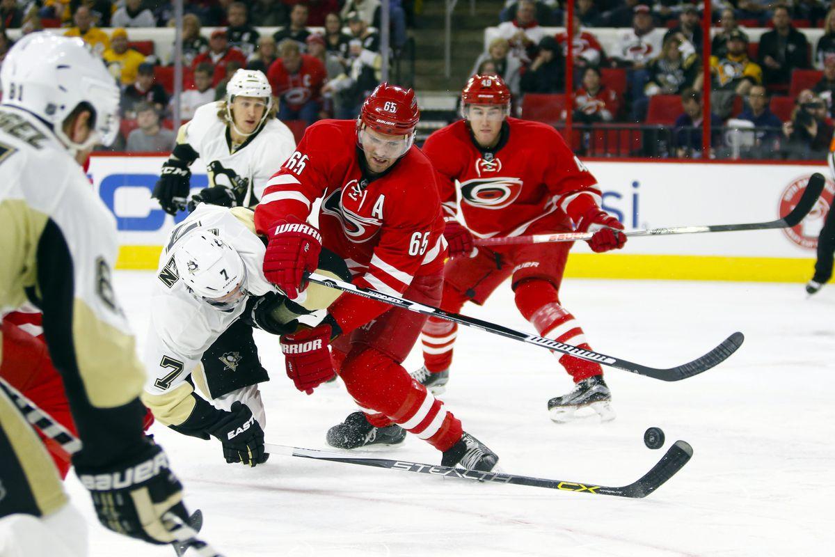 NHL: Pittsburgh Penguins at Carolina Hurricanes