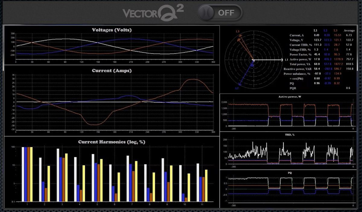 The VectorQ, off.