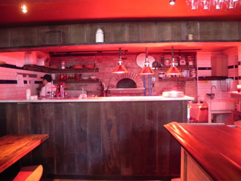 Inside the Double Decker Osteria Cotta on the UWS - Eater NY