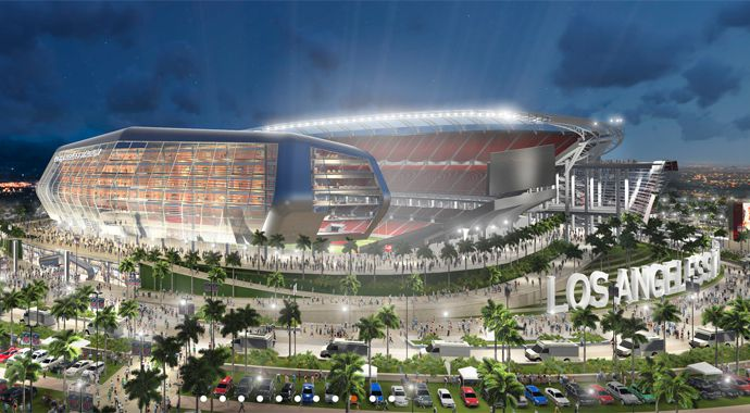 LA stadium Carson