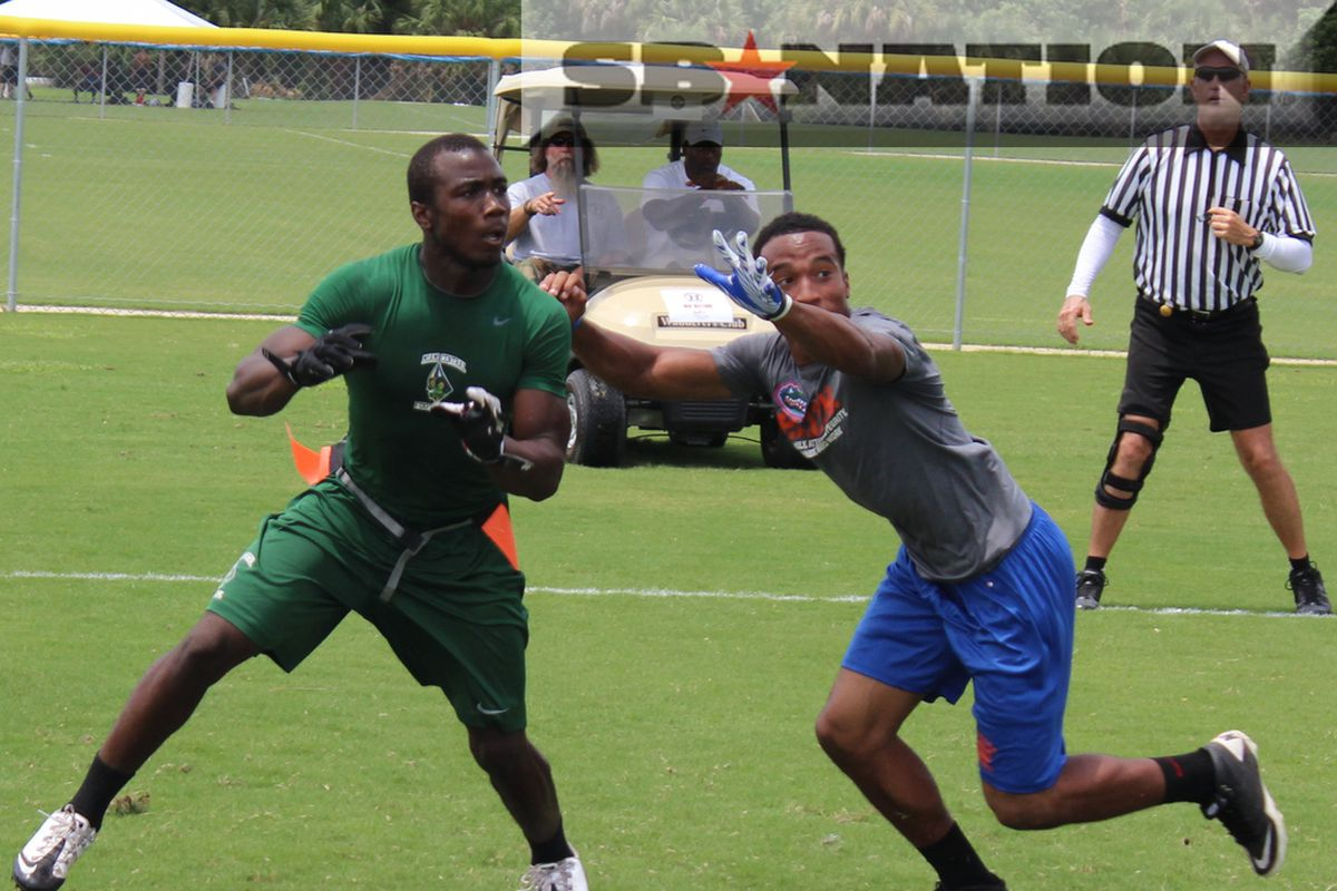 This is what Dalvin Cook (left) looks like as a high school junior.