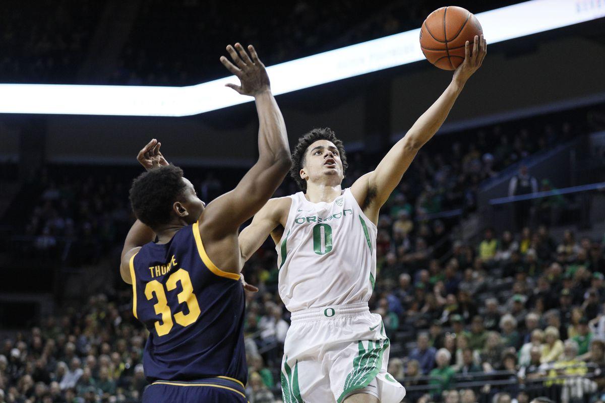 NCAA Basketball: California at Oregon