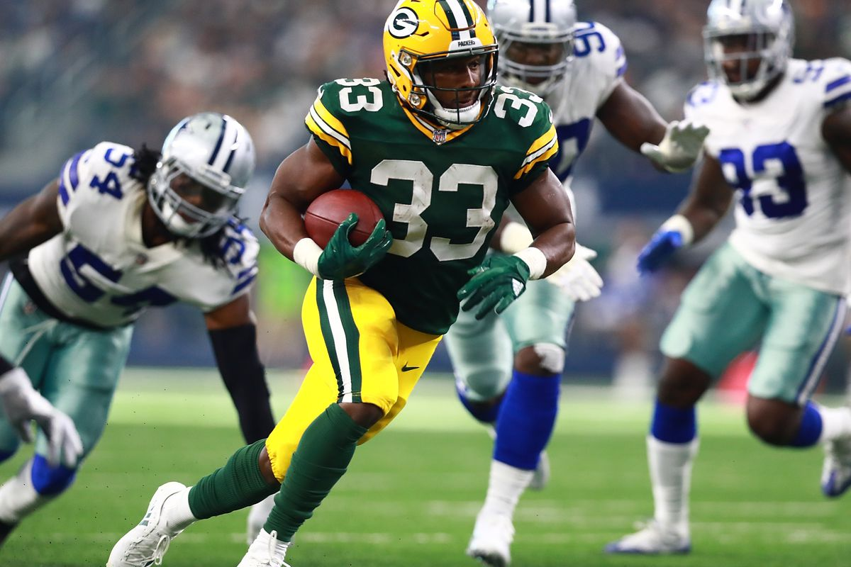 In The Year Of The Rookie Running Back The Packers Aaron Jones May Be The Next Star Acme Packing Company