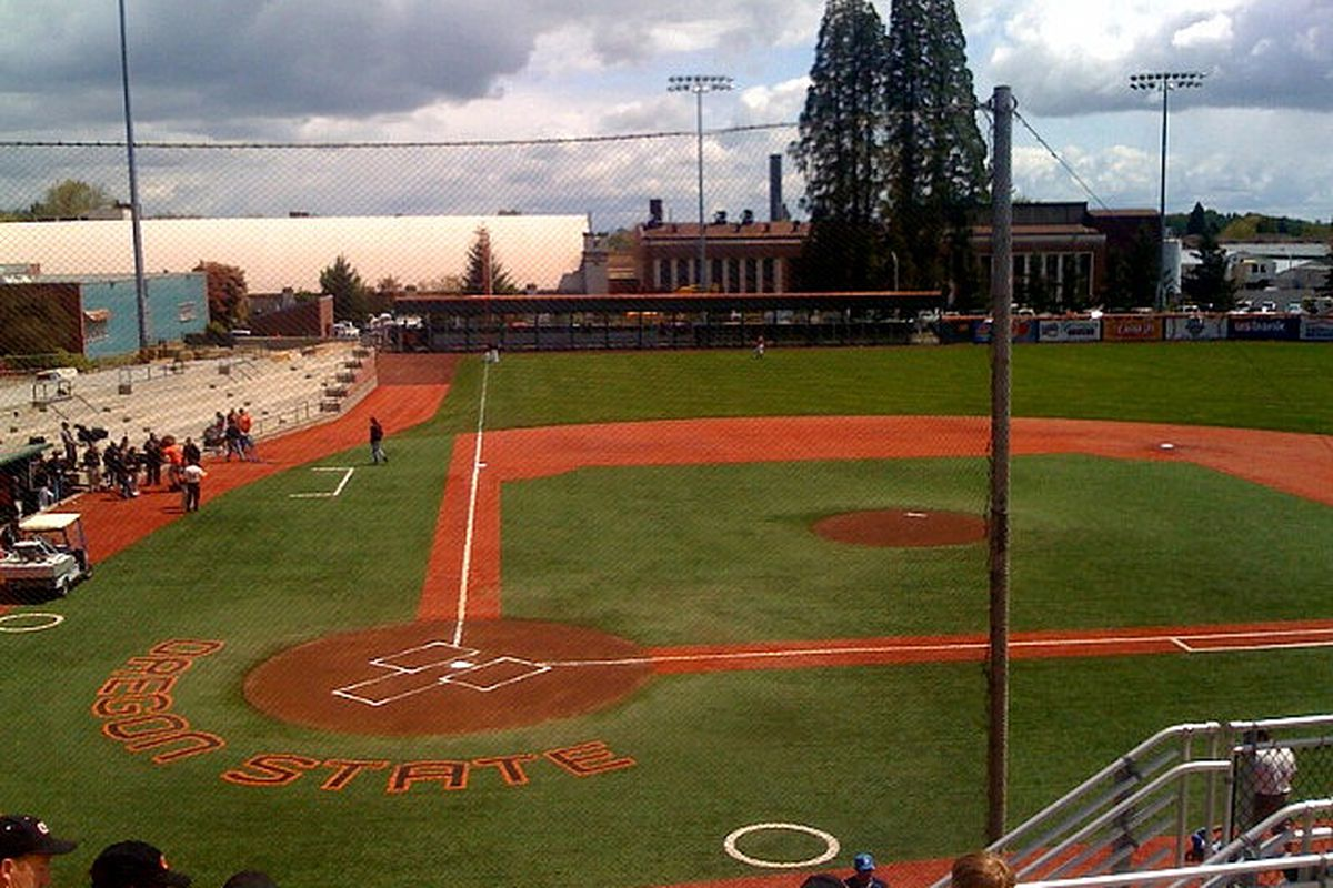 Oregon State's Goss Stadium, the site of the 2011 NCAA baseball tournament's Corvallis Regional. Photo by flickr user brookscl flickr.com/photos/chrisbrooks