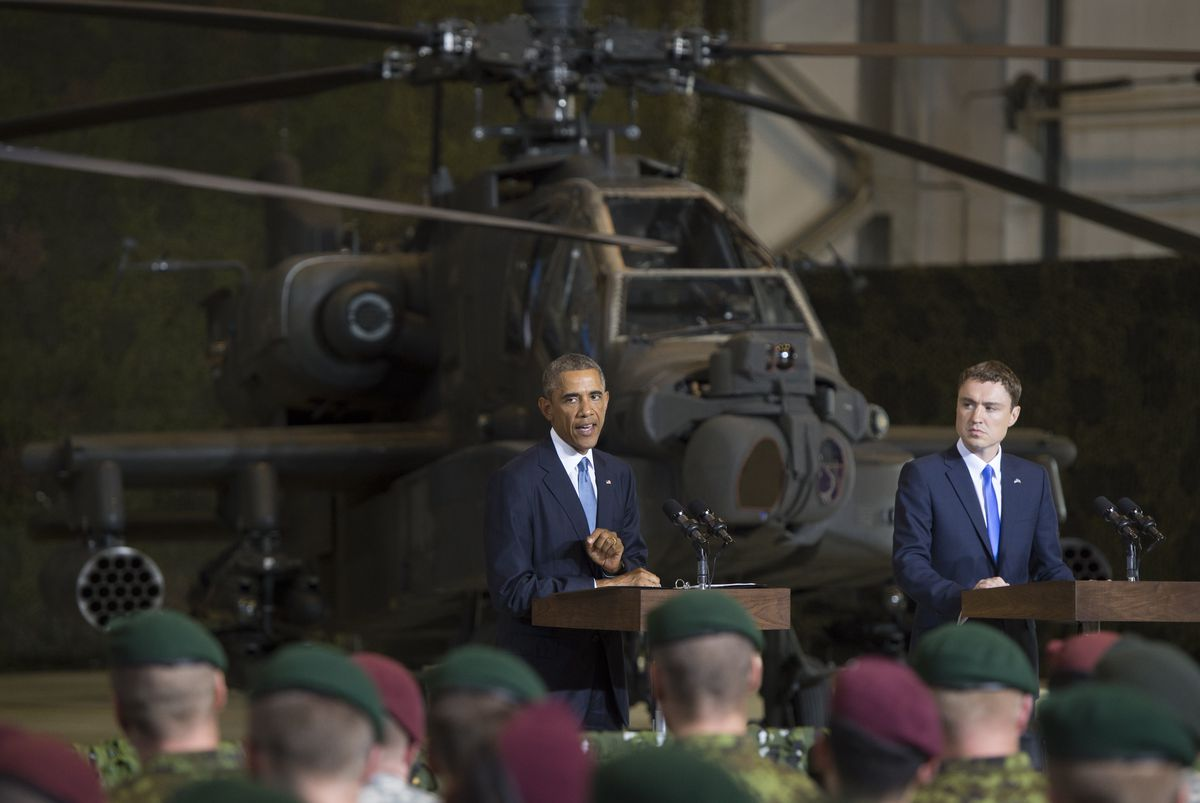 obama estonia (saul loeb/afp/getty)