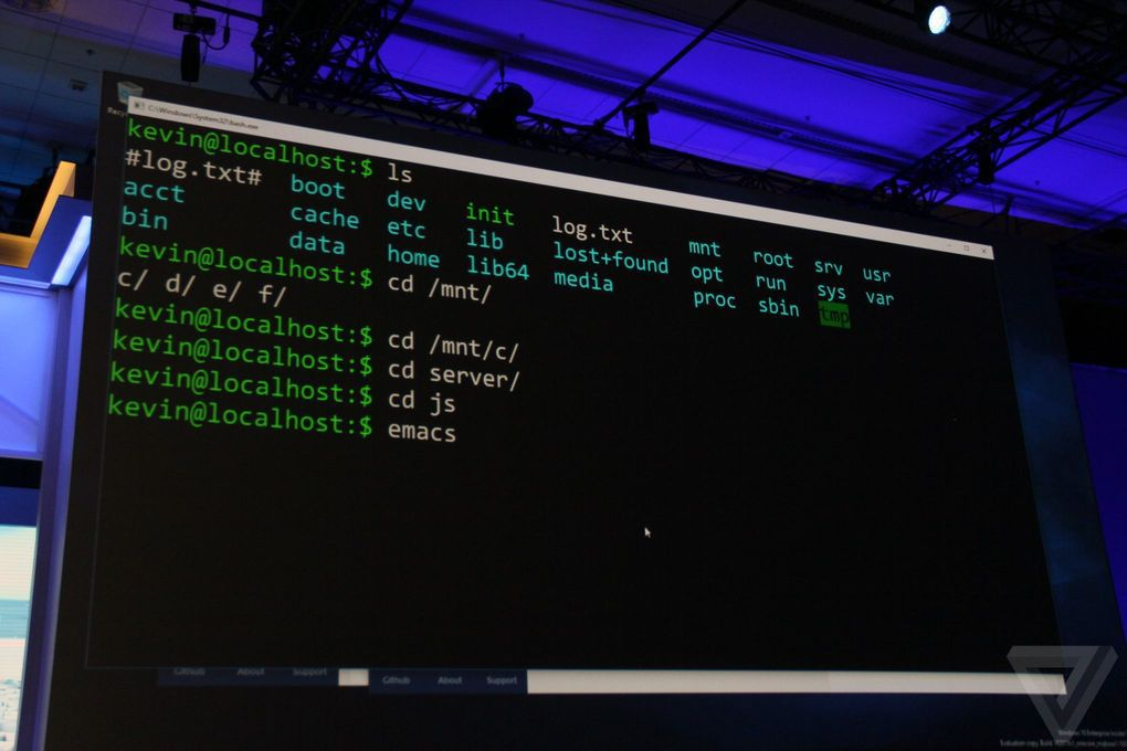 Microsoft is adding the Linux command line to Windows 10